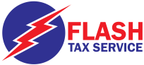 Flash tax  service logo